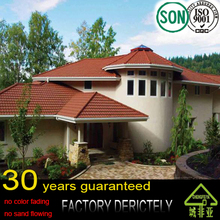 real 100% Factory selling high quality low price Stone Coated Metal Roof Tiles