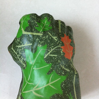 right hands pu antistress fist Can koozies