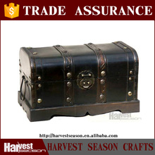 luxurious hot sell wood craft(wooden storage trunk)