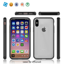 Scratch Resistant TPU Rubber Soft Skin Silicone Protective Case for Apple iPhone 8