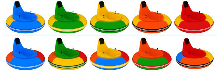 Original manufacturer playground coin operaed electric inflatable Kid Bumper Car FLKC