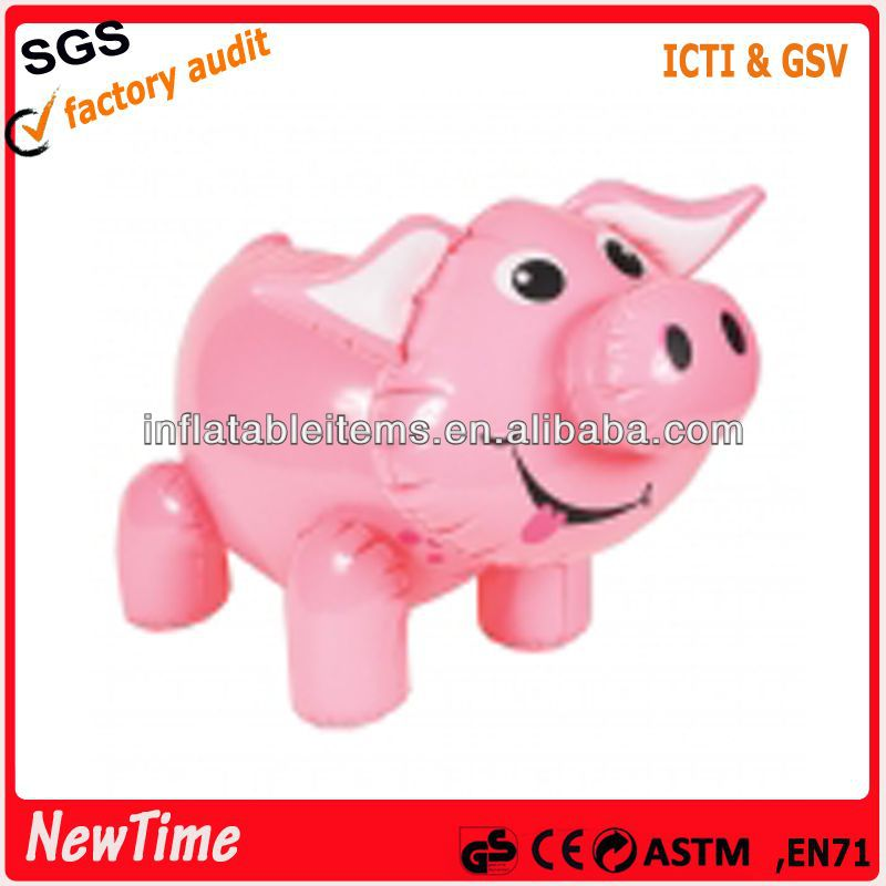 PVC inflatable toy animal inflatable pig
