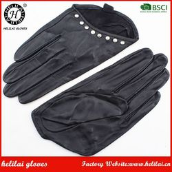 Helilai Motorbike and car Driving Sheepskin Gloves