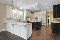 2014 French style white solid wood kitchen design