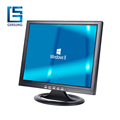 "15"" lcd monitor case built in card reader and TV/AV function is optional"