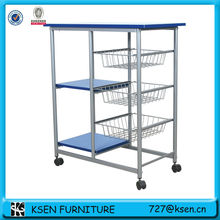 Metal Fruits & Vegetable Kitchen trolley cart