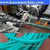 the production line pvc garden hose making machine