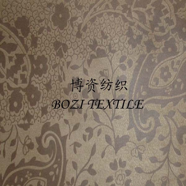 New products Recycled polyester emboss faux micro suede fabric for dog house handbag home textile of rpet suede fabric