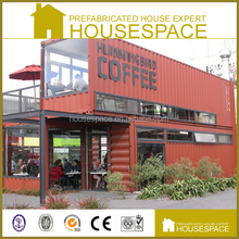 Cost-effective Good Quality Well Decorated shipping container cafe
