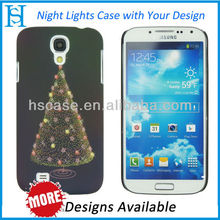 luminous custom cell phone case for samsung galaxy 4 s i9500