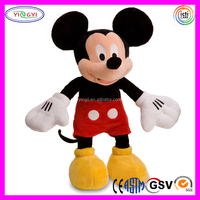 D102 Fashion Branded Cute Soft Mickey Mouse Plush Toy Wholesale