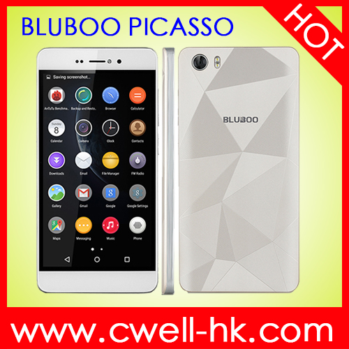 "Original BLUBOO Picasso 5.0""HD 2G RAM 16G ROM 3G WCDMA Android 5.1 china cell phone"