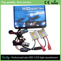 2015 Hot sales high quality HID light 35W 55W 12v 24v Slim Hid xenon Kit