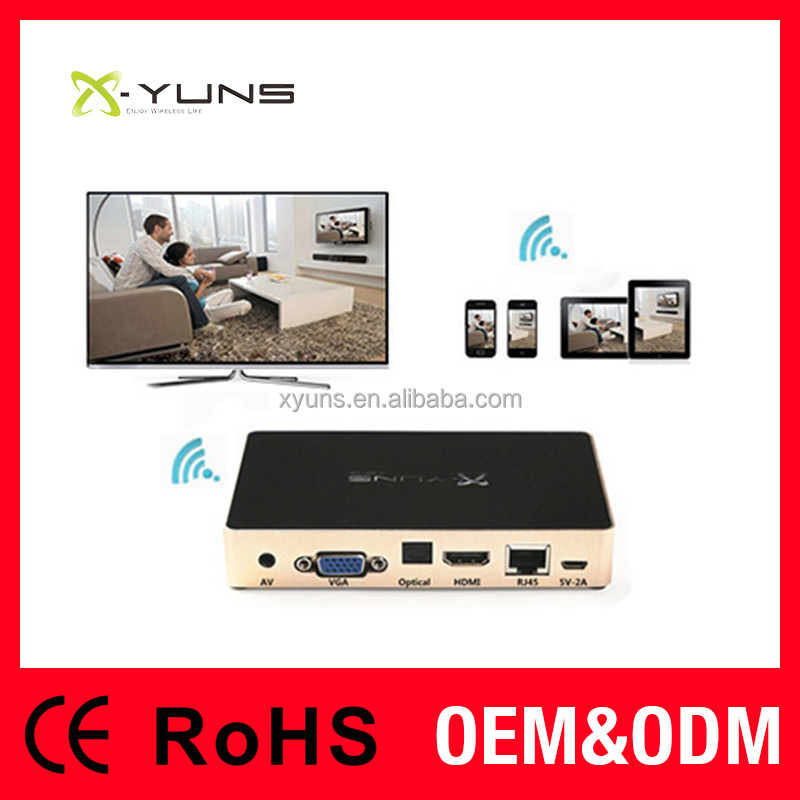 Mirroring Link Wifi Miracast Dongle 3g android internet tv box with sim cardbox