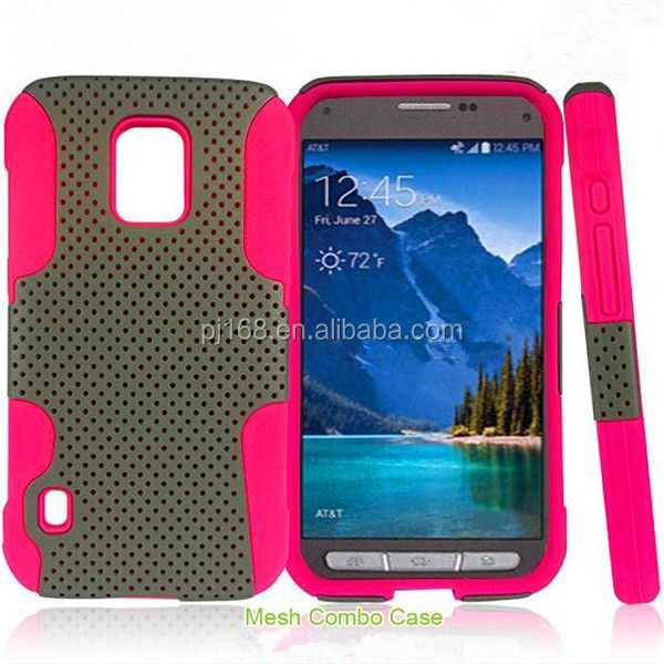 new product toolbox hybrid combo mesh case for ZTE Radiant sonata Z740