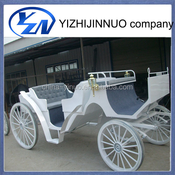 China supplier Christmas sightseeing horse carriage for sale