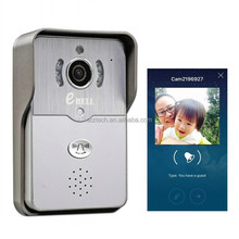 eBELL HD WiFi Wireless Smart Door Bell IP Peephole Camera, Night Vision/ Take Photos/PIR Detection/ Remote Open Door
