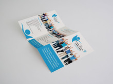 Custom size sample leaflet as promotion