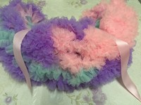 Extra Fluffly girls birthday party Gorgeous Soft colorf skirt girls princess baby pettiskirt
