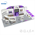 Detian Offer modular system booth booth space 10x20 custom trade show displays