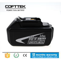 High makita spare parts 18v power tool li-ion rechargeable battery pack Compact Lithium Battery Makita 18v 3000mah for BL1830