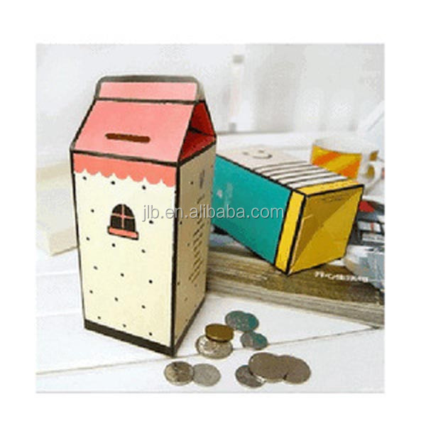 House Style Craft Paper Box for Christmas Gift,Folding Gift Paper Box Package