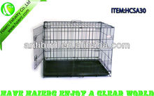 Welded Wire Dog crates Kennel SA30 with ABS Tray