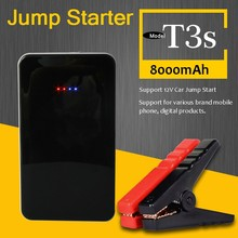 8000mah 400 peak amps smart powerbank and jump starter with LED flashlight