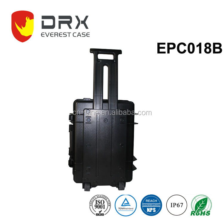 EVEREST ip68 hard transport travel protective tool box waterproof plastic equipment case For Electronic devices