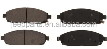 Front Brake Pads for Dodge Ram 2500 Jeep Commander Grand Cherokee D1080
