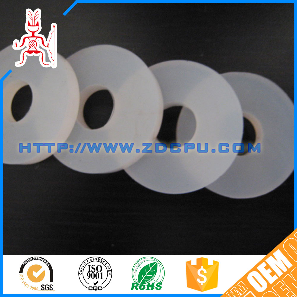 Quality assurance small custom food-grade silicone rubber gasket