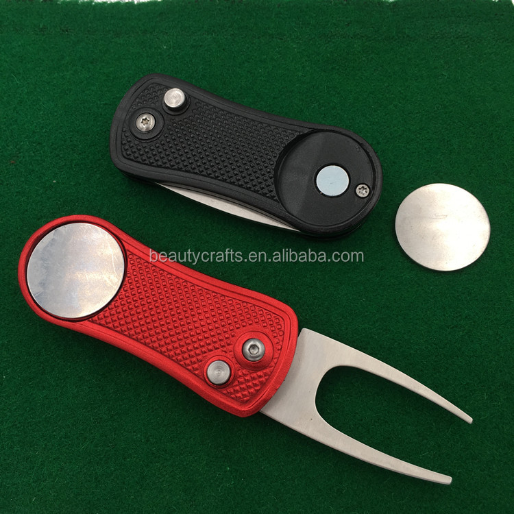New Original Golf Divot Tool + Ball Marker / Pitchmark Repairer Pitch