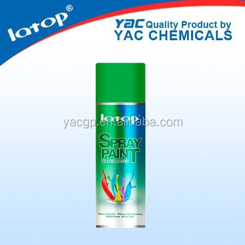 400ML water based aerosol spray paint environmental protection highlight effect