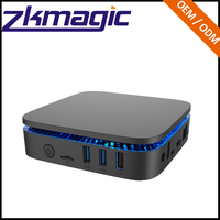 Zkmagic Intel Pocket PC Wintel Apollo Lake Celeron DC or QC J3355/J3455/J4205 AK1 WiFi Bluetooth 4.0 Type C Intel Mini PC