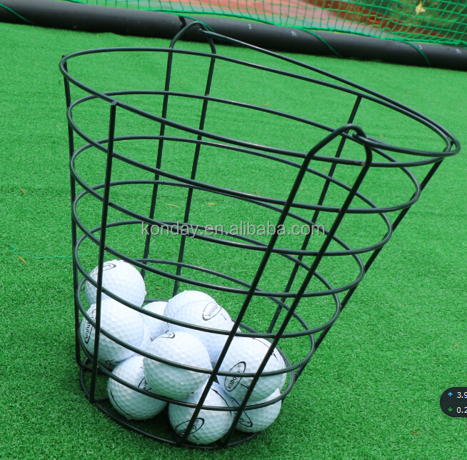 Great quality Metal painted golf ball wire basket
