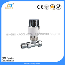 Thermostatic automatic water valve flow control