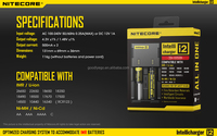 Original Nitecore i2 universal portable Nitecore i2 intelligent battery Charger for all types of battery