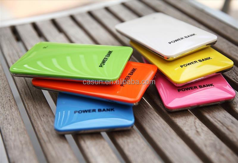 100% real capacity! super slim mobile power bank fit for cell phone