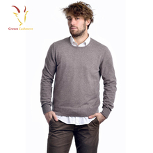 Crew Neck Latest New Style Pure Wool Sweaters
