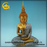 Home decoration of custom resinic buddha statues