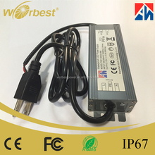 Worbest 60W 12V Waterproof Electronic LED Power Supply LED Switching Power Supply IP67