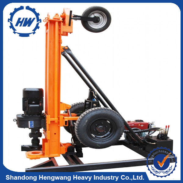 25m depth truck mounted drilling rig/core mini pile drilling rig