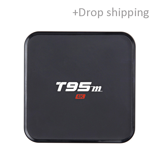 New Android internet TV Box T95M 1GB/2GB 8GB 2.4G WiFi Amlogic S905X 16.0 Android 6.0 Quad Core -Skype: colsales09