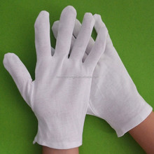 Wholesale white cotton glove