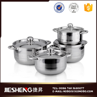 Hot sale double wall hot soup pot stainless steel casserole
