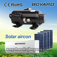 boyard r134a inverter compressor air conditioner for solar aircon with bldc batteries electric compressor