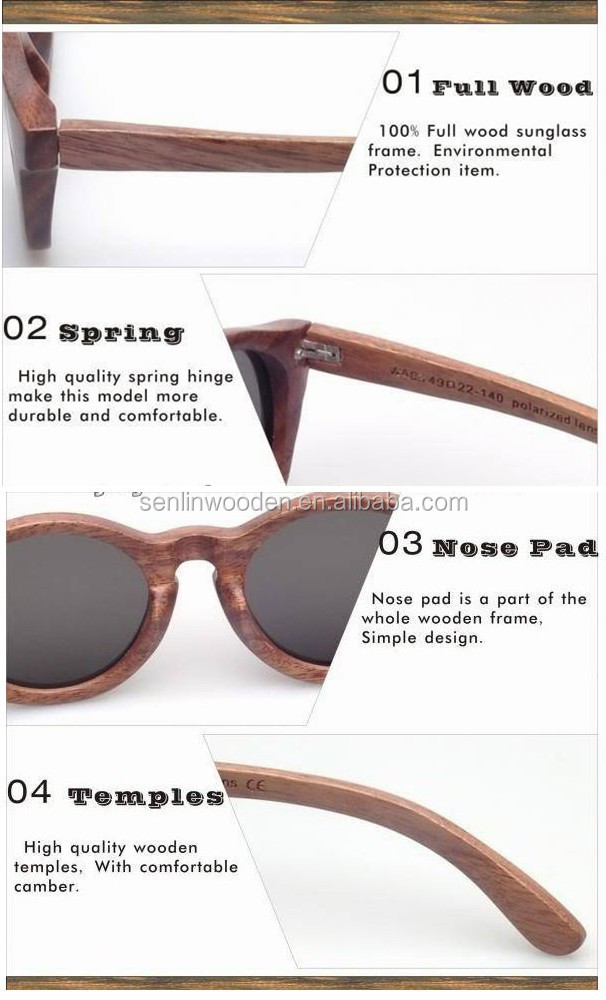 Whole Heart Shaped Sunglasses  2016 fashion wooden heart shaped sunglasses view recycled