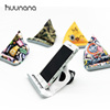 READY TO SHIP Huunana x Happiplayground Brand Universal Triangle Microfiber Bean Bag Mobile Phone Stand Lazy Tablet Holder