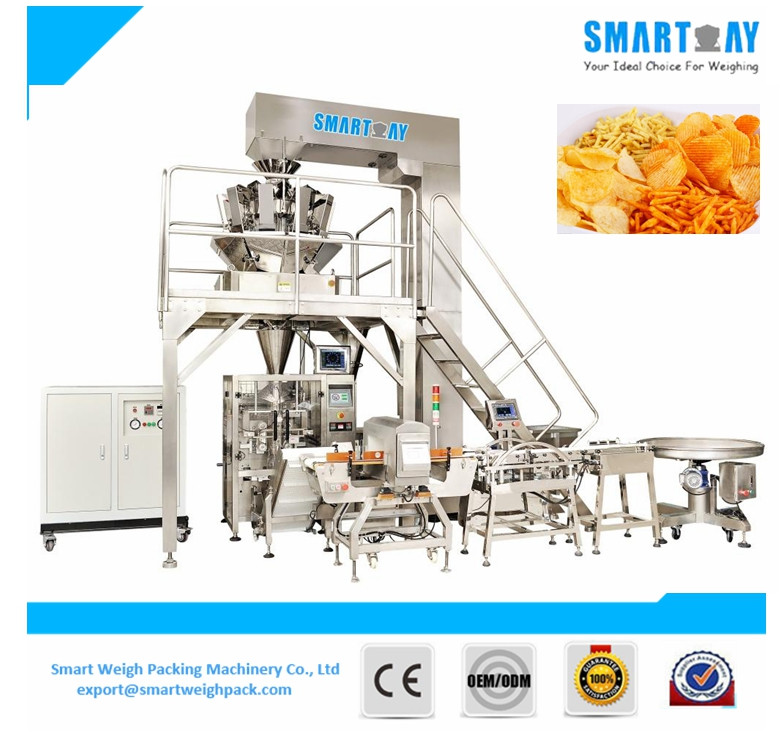 SMART WEIGH Automatic Small Potato Chips Packaging Machine
