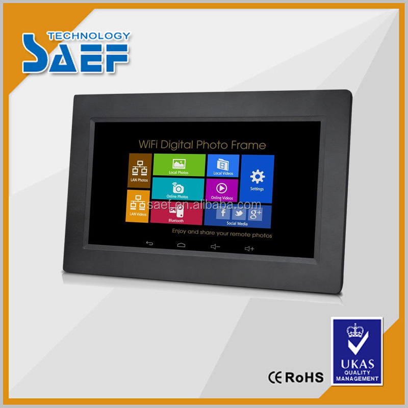 10 inch touch screen wall mount network advertising tablets 10.1 android 4.4